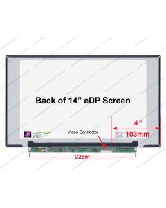 Chi Mei N140HCA-EBC REV.C1 Replacement Laptop LCD Screen Panel