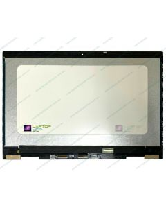 HP ENVY X360 15M-CN Replacement Laptop LCD Screen with Touch Glass Digitizer and Silver Frame / Bezel L20114-001