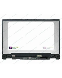 HP X360 14-DH0048TU Replacement Laptop LCD Touch Screen Assembly with Bezel L51120-001 (1366 x 768) GENERIC