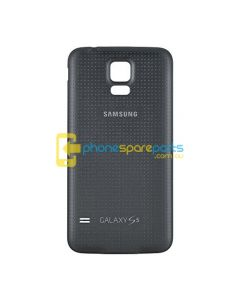 Galaxy S5 G900 Battery Cover Black - AU Stock