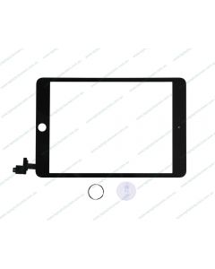 Apple Ipad Mini 3 Touch Screen With Home Button IC Module Assembly Black High Quality - AU Stock